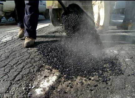 INDOT, DPW Continue to Combat Potholes