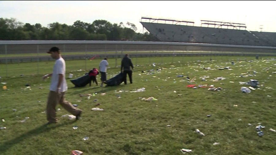 indy500 trash cleanup 4