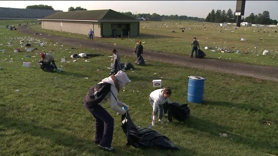 indy500 trash cleanup 5