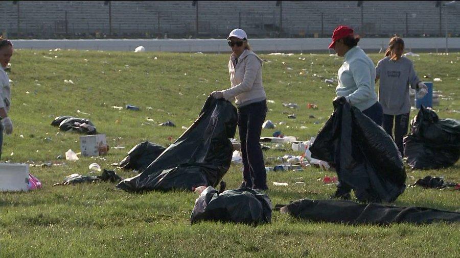 indy500 trash cleanup 6