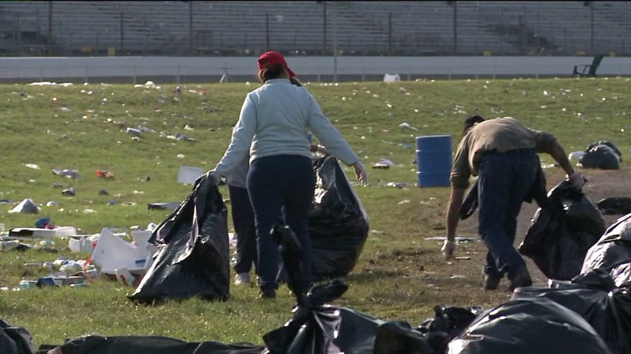 indy500 trash cleanup 7