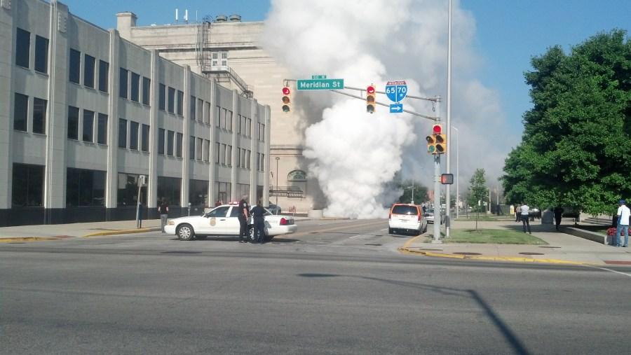 manhole steam wed 4