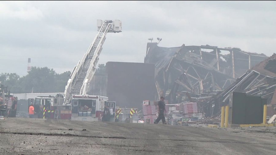 warehouse fire aftermath 9