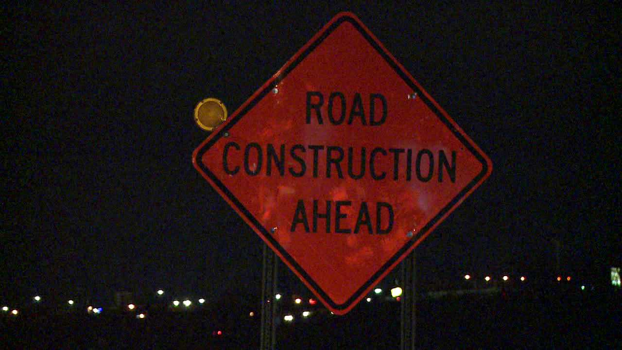 road construction sign generic
