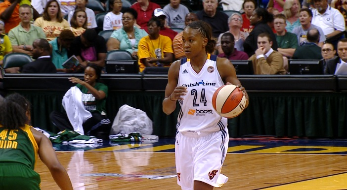 TAMIKA CATCHINGS FEVER