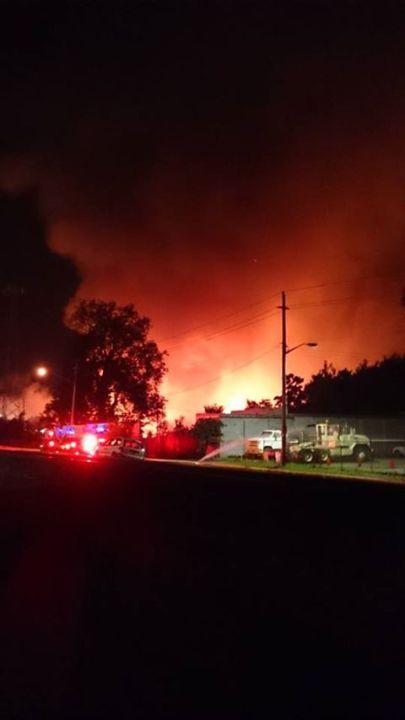 viewer warehouse fire photo 1