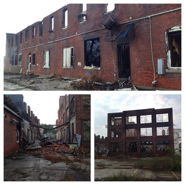 warehouse fire 1