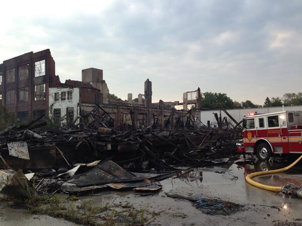 warehouse fire 2