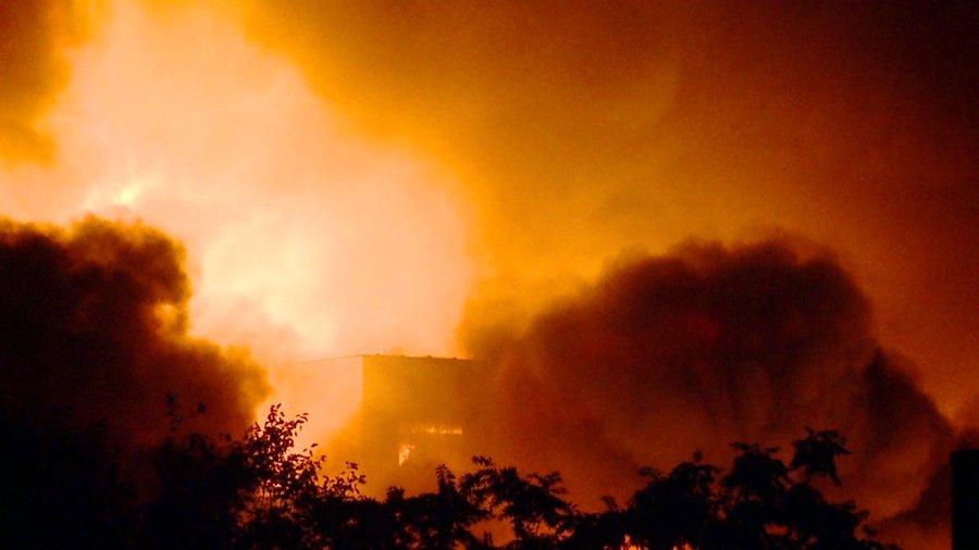 warehouse fire 6