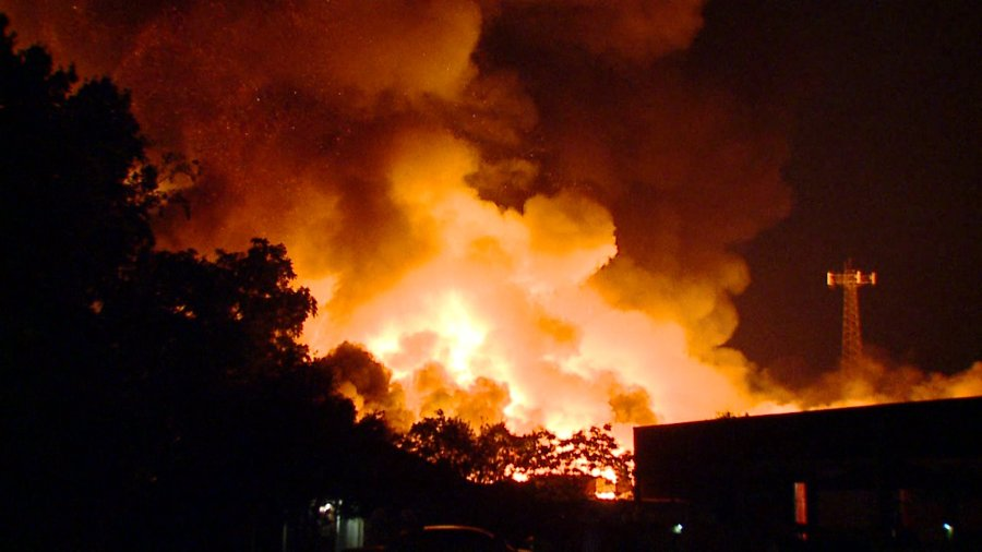 warehouse fire 7