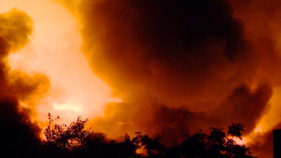 warehouse fire 9