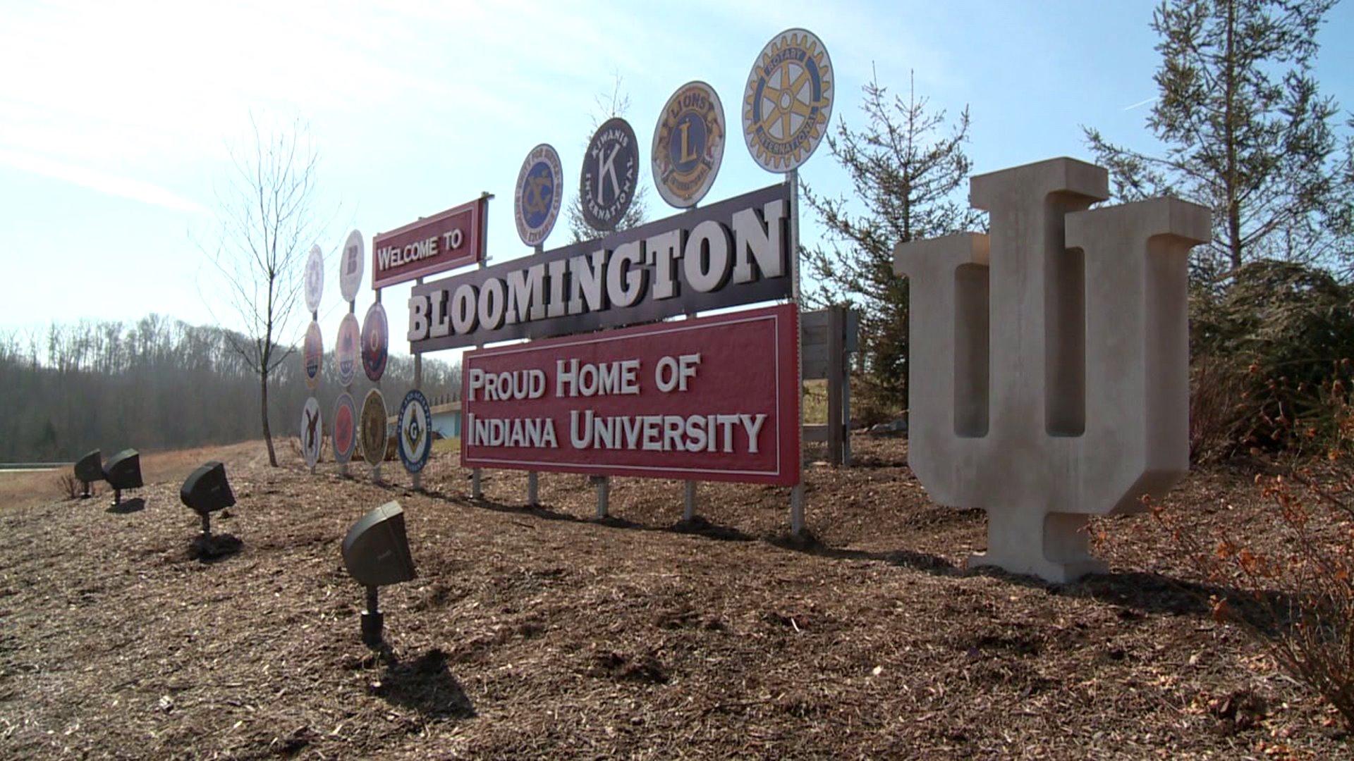 bloomington sign