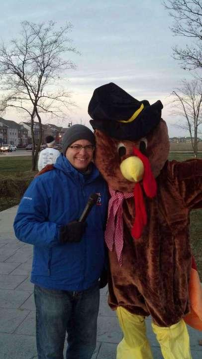 Gobblers Jog Dan Turkey