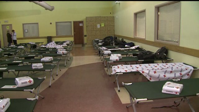 Emergency shelter opens for homeless in Indianapolis