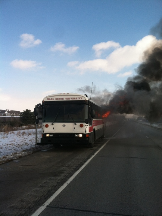 Ball State bus