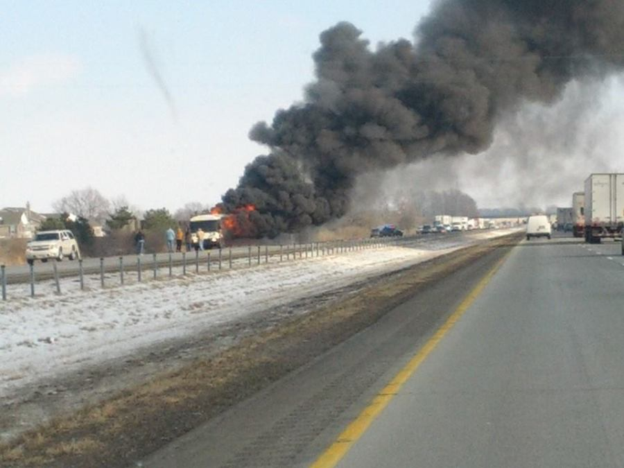 Michael Frazee Ball State bus fire