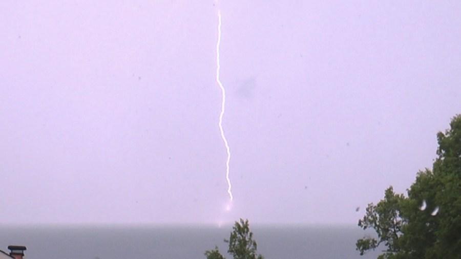 Carmel lightning