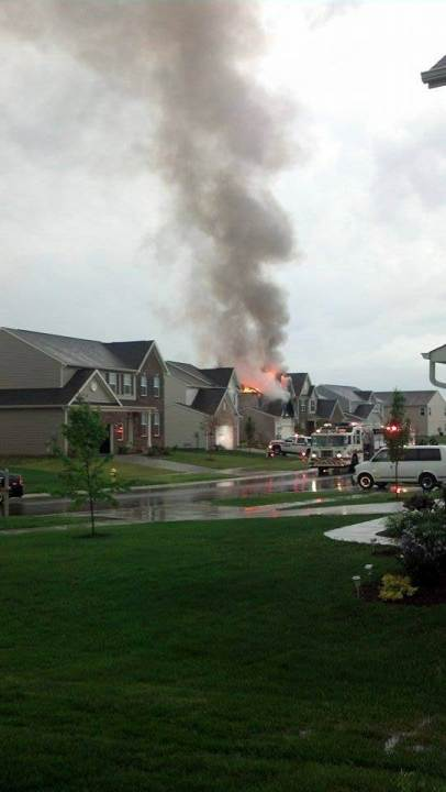 greenwood lightning fire