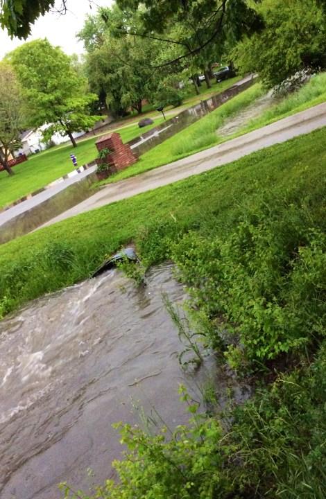 Farley neighborhood flooding