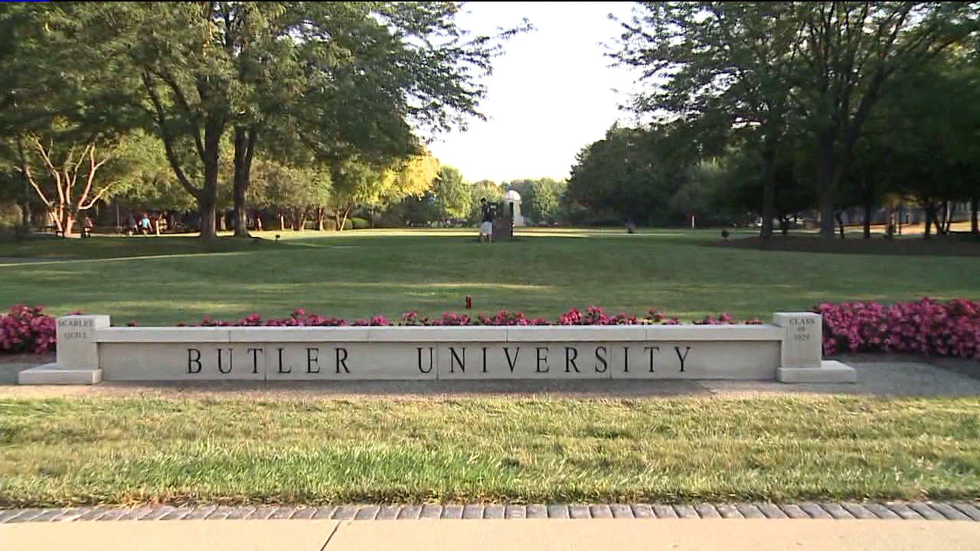 butler university sign