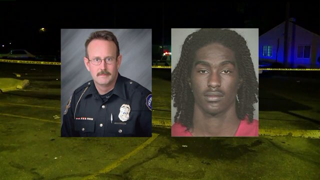 Suspect charged with officer Renn's murder, death penalty being considered