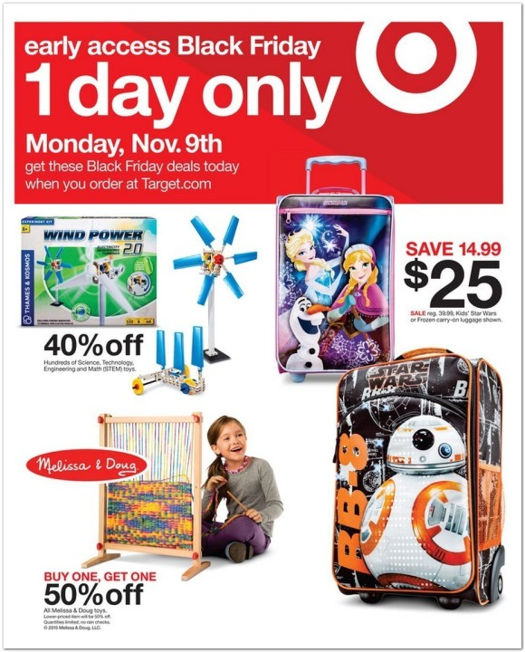 See All 40 Pages Of The 2015 Target Black Friday Ad Fox 59