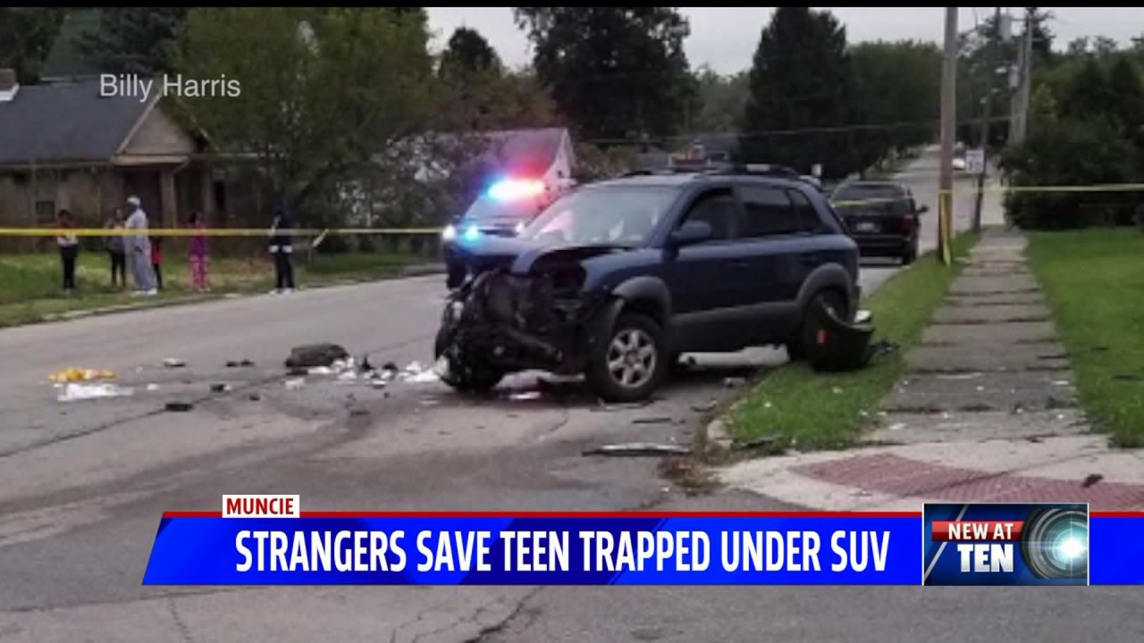 Billy Tv Kast.Strangers Save Muncie Teenager Trapped Underneath Suv Fox 59