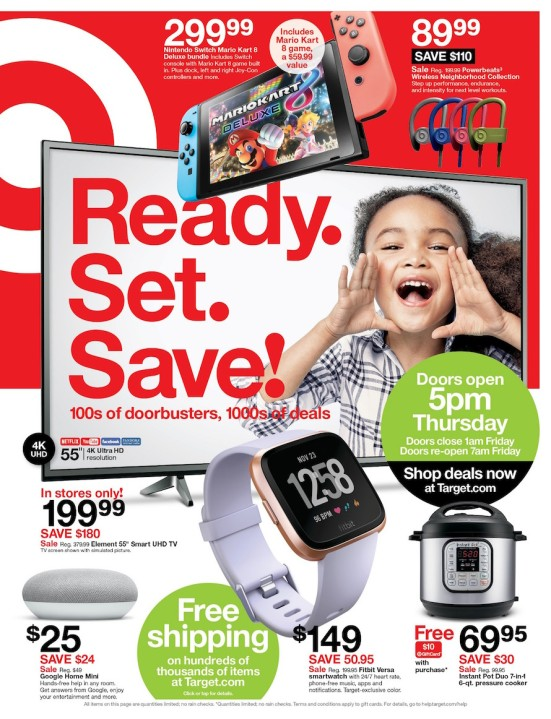 Target Unveils Deals Early Online Specials In 2018 Black Friday Ad Fox 59