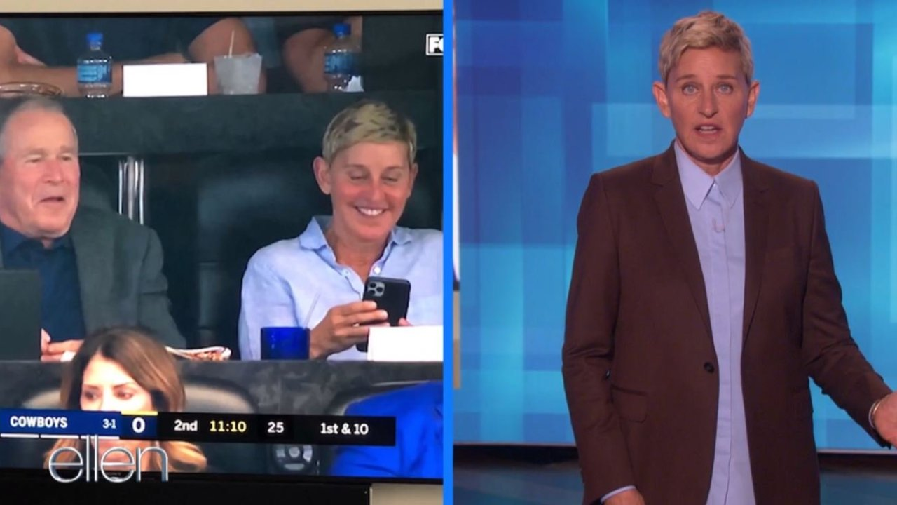 Ellen DeGeneres responds to backlash after hanging out ...