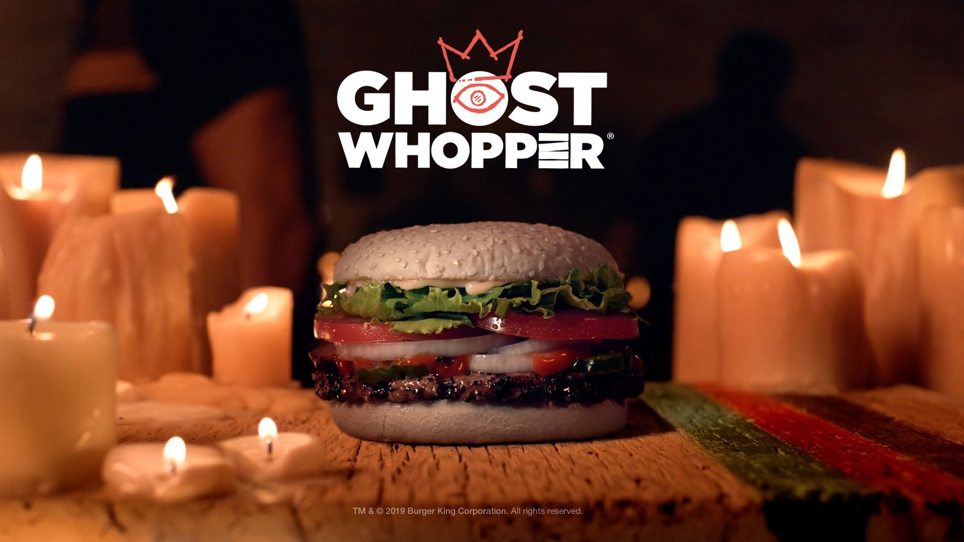 Burger King Halloween Whopper 2020 Burger King is selling a 'Ghost Whopper' for Halloween | Fox 59