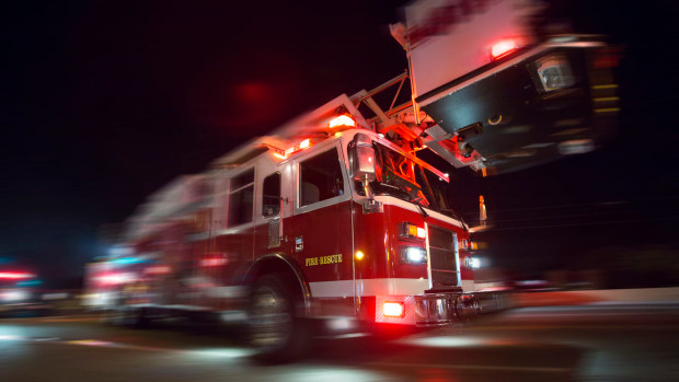 Indianapolis garage fires on near west side