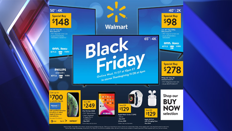 Walmart Releases Sales For Thanksgiving Black Friday Fox 59