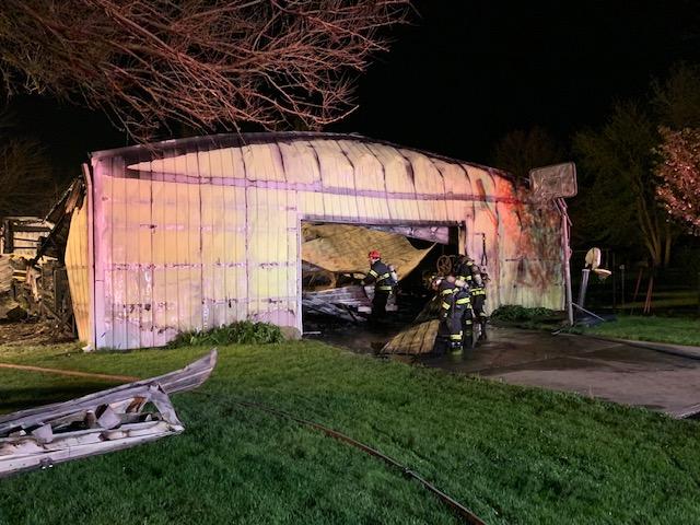 Lebanon barn fire destroys classic vehicles, antique ...