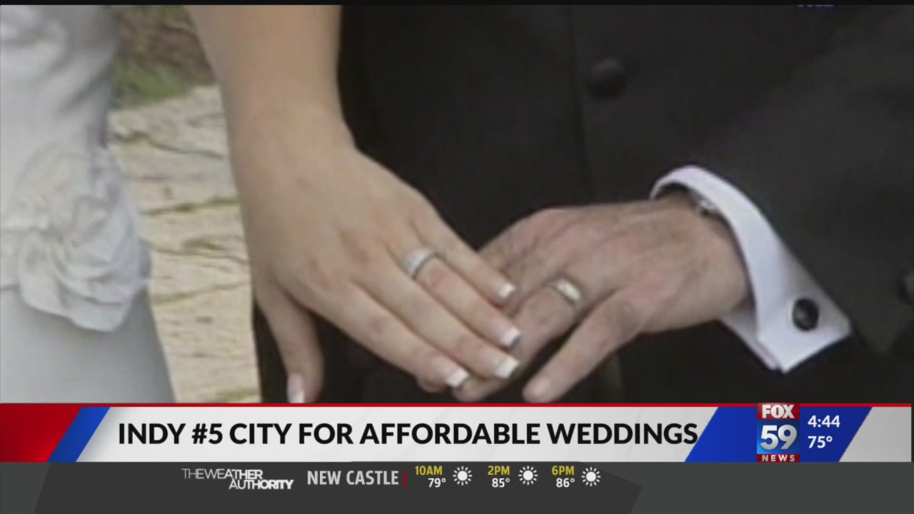Indianapolis named one of the most affordable cities for a wedding