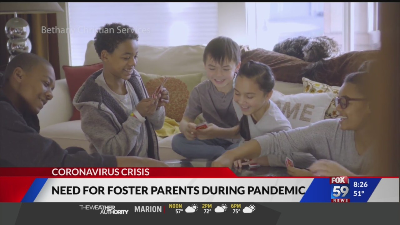 Larger need for foster parents during pandemic