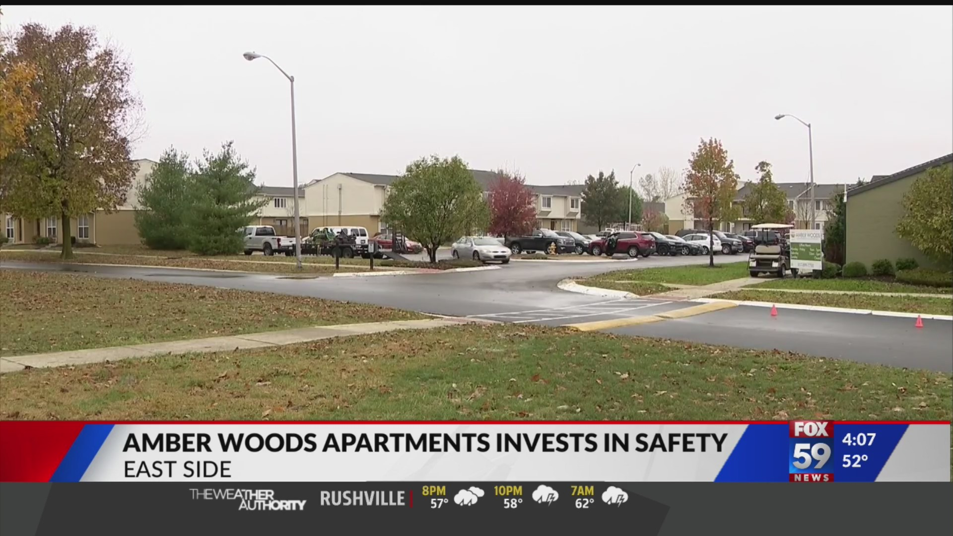 Amber Woods Apartments Invests In Safety During Renovations Fox 59