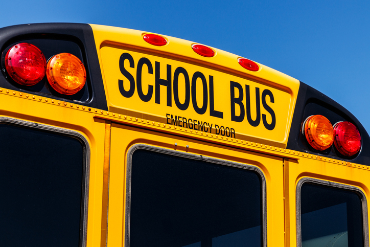 Mooresville School Bus Crash: One Person Seriously Injured