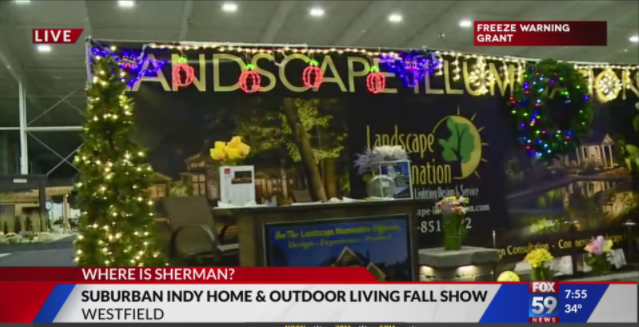 Suburban Indy Home & Outdoor Living Fall Show preview | Fox 59 on Blue Fox Outdoor Living id=59744