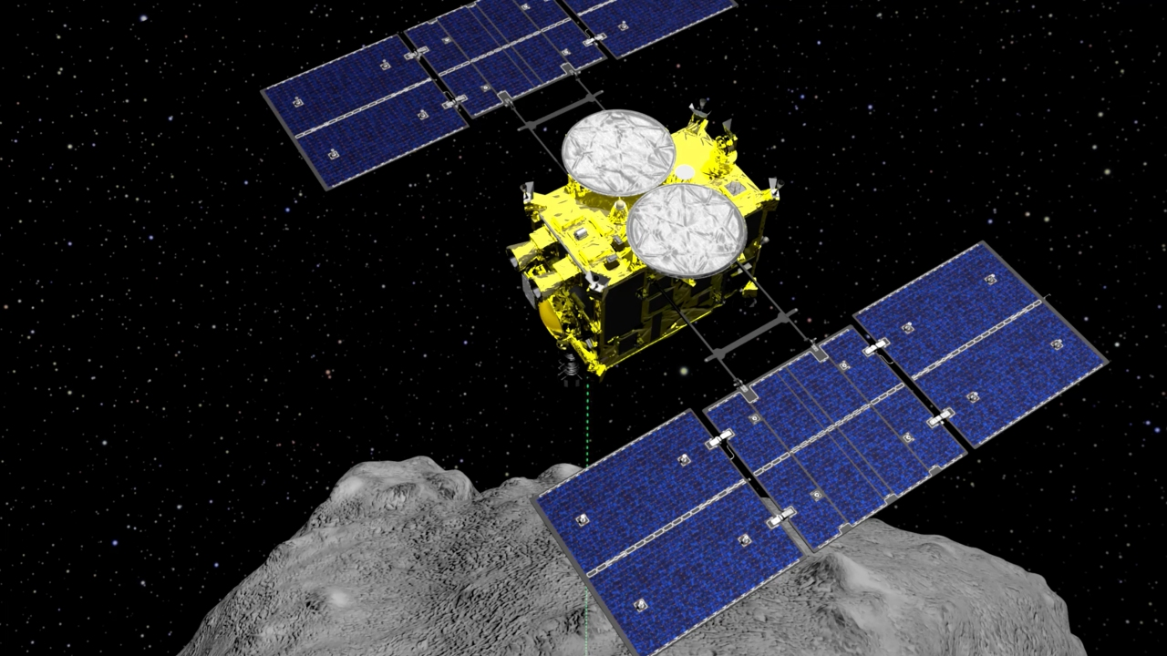 Japan spacecraft carrying asteroid soil samples nears home - Fox 59