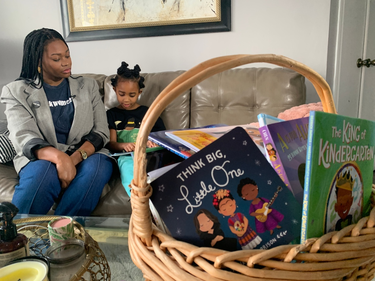 5-year-old launches book drive to promote diversity in school