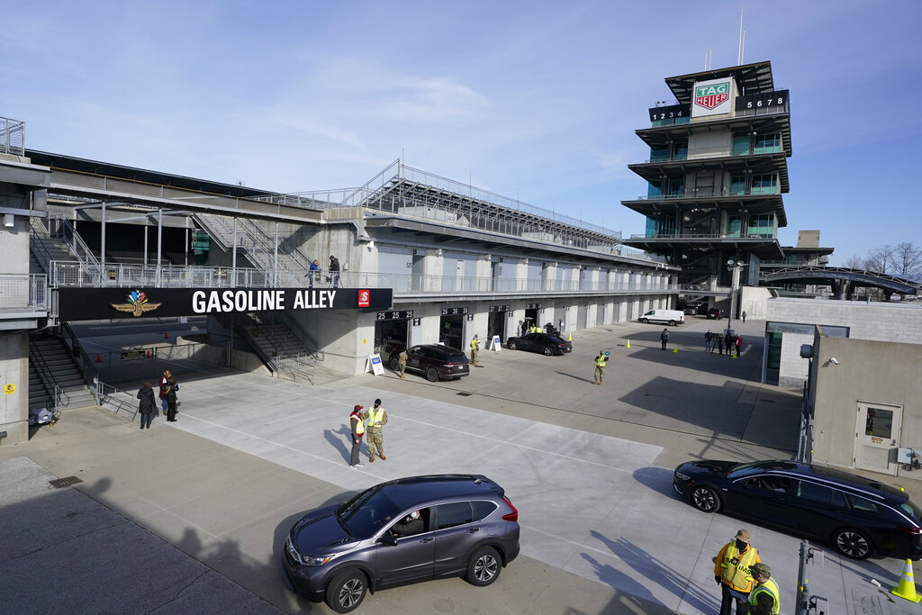 Vaccines available for teens at Indianapolis Motor Speedway