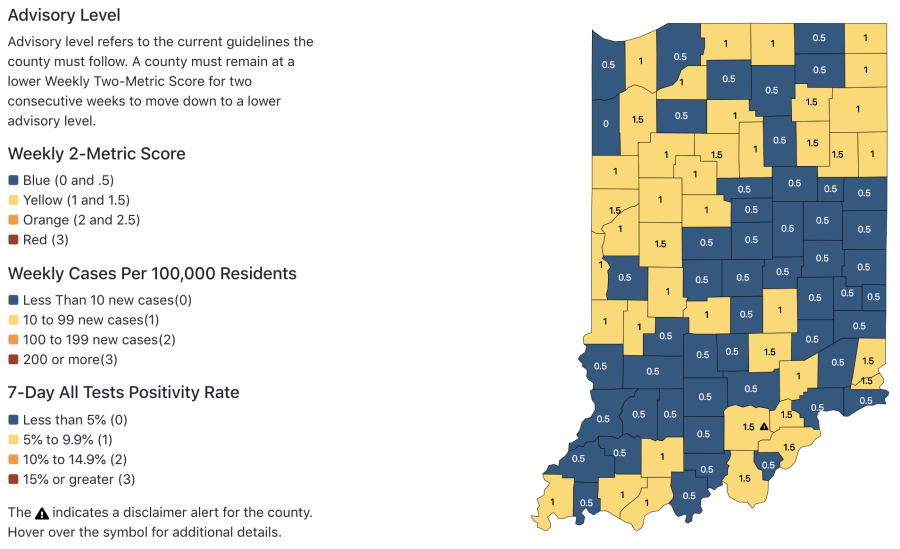786 new coronavirus cases, 9 additional deaths reported in Indiana