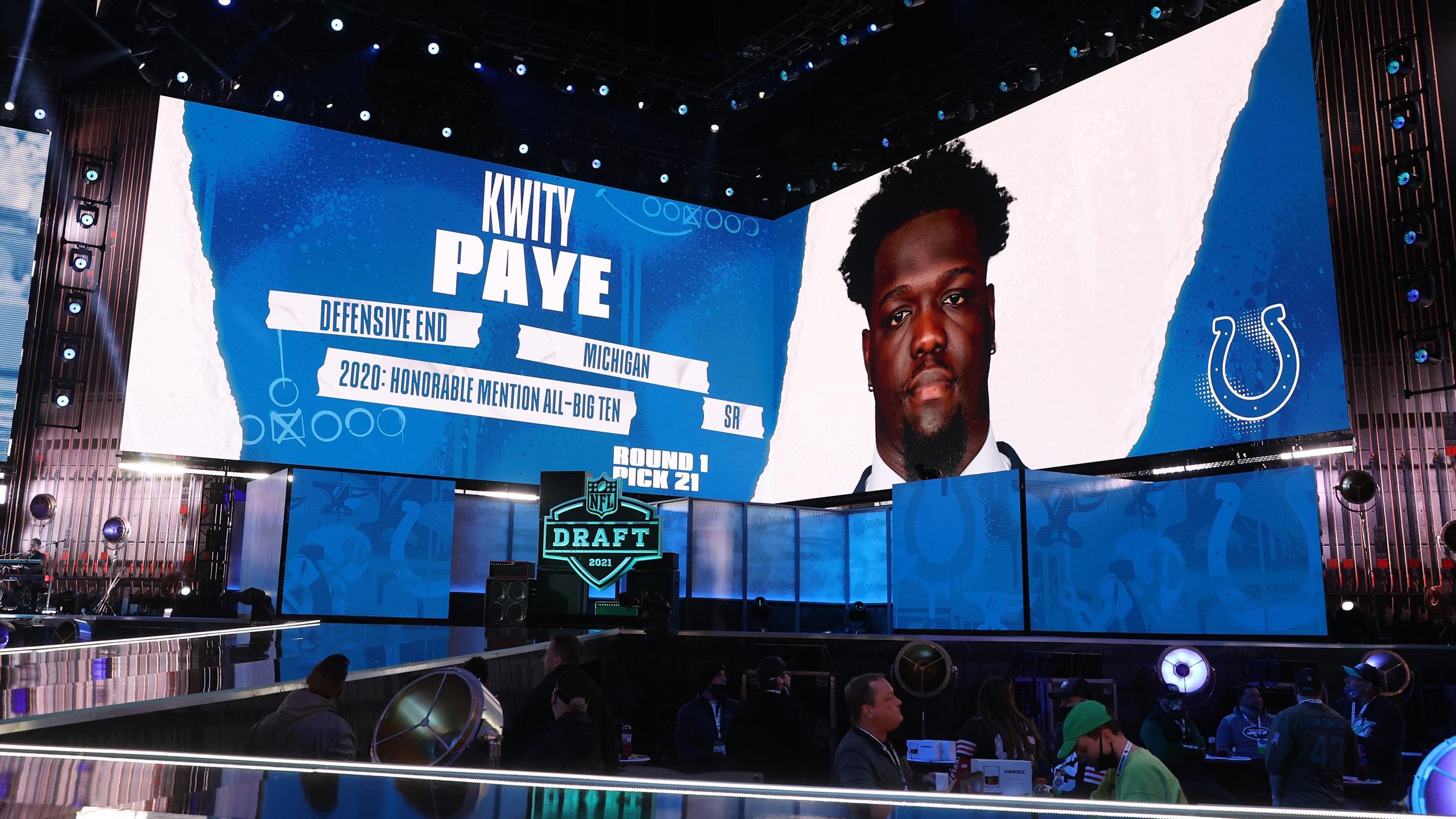 Colts First Round Draft Pick: Kwity Paye from Michigan