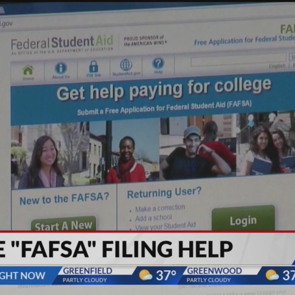 Help with FAFSA application