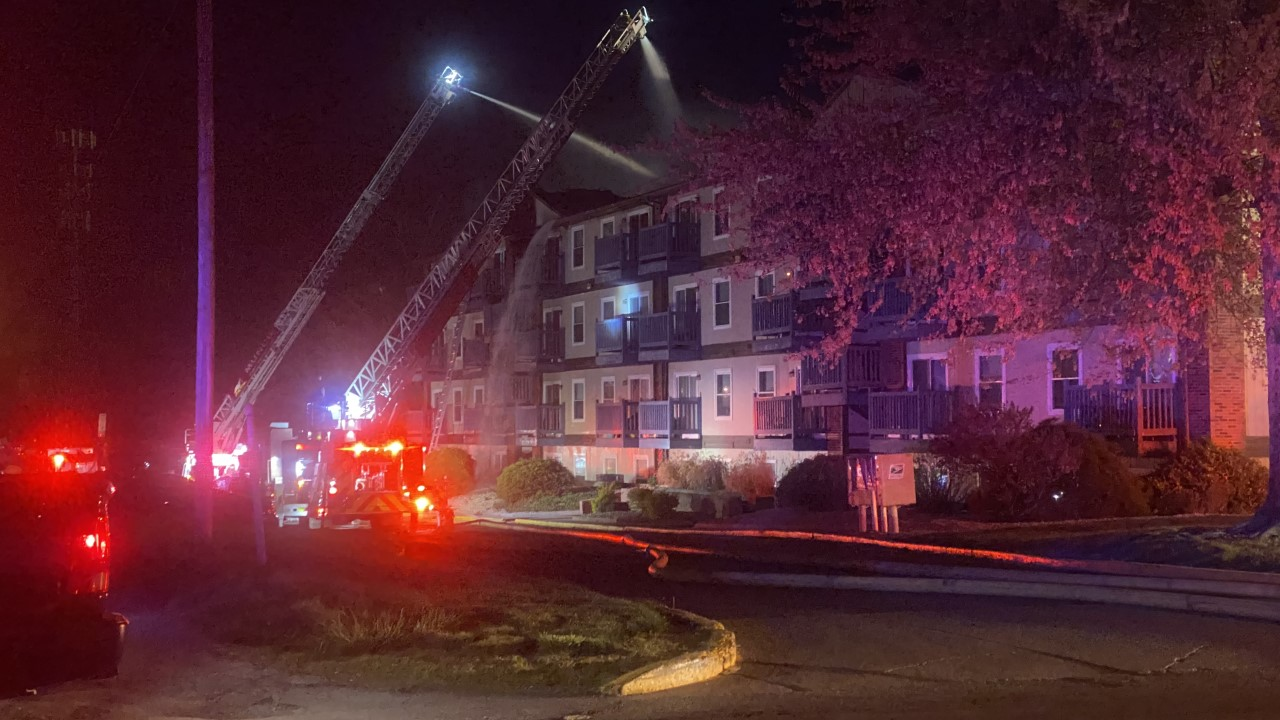 Ball State apartment fire