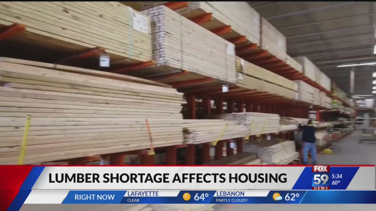 High lumber prices could impact affordability of housing for near future