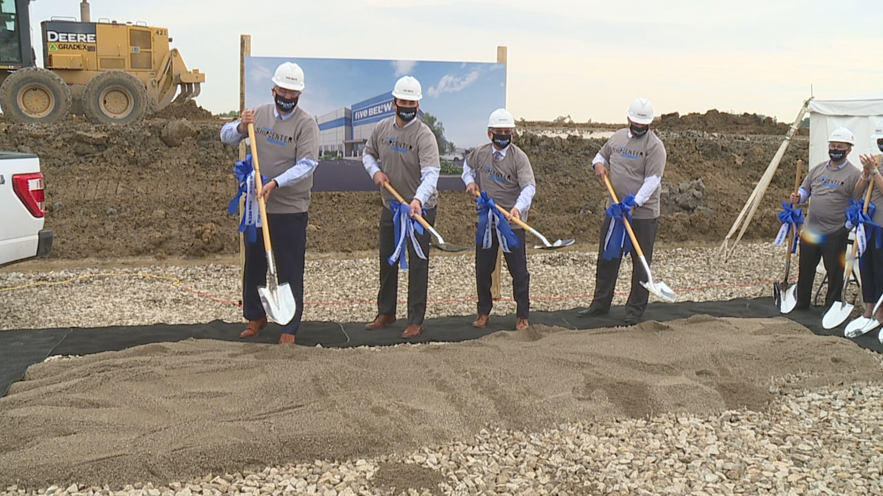 Officials break ground on new Five Below distribution center in Shelby County