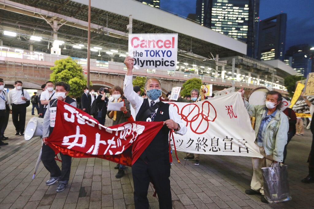 Medical officials ask for Olympics to be canceled