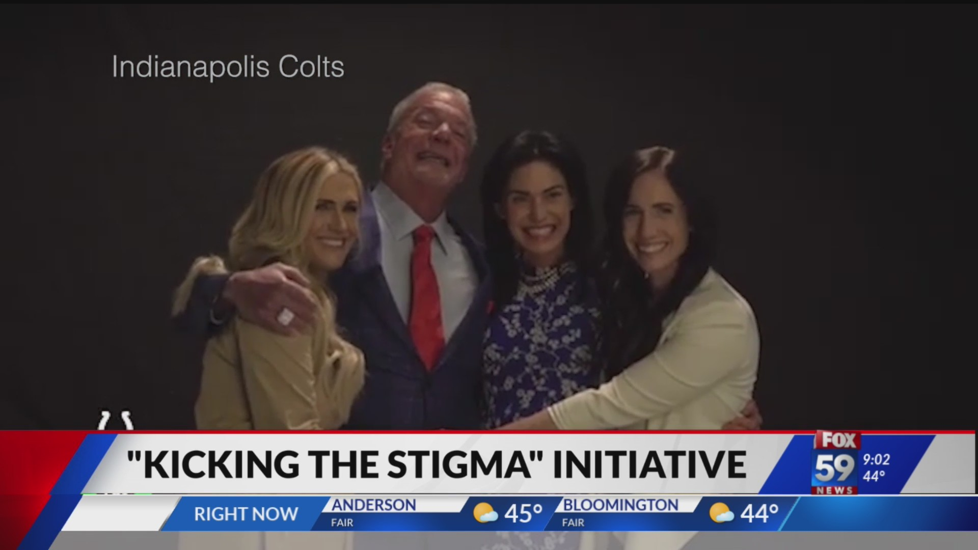 Colts Kicking the Stigma campaign focuses on Mental Health