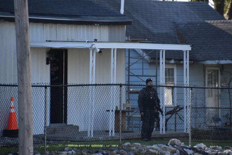 Outlaws Motorcycle Club HQ searched for stabbing evidence